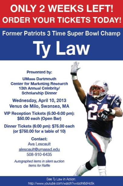 2 Weeks Left - Ty Law